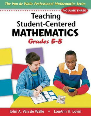 Cover of Teaching Student-Centered Mathematics