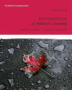 Cover of Foundations of Addictions Counseling