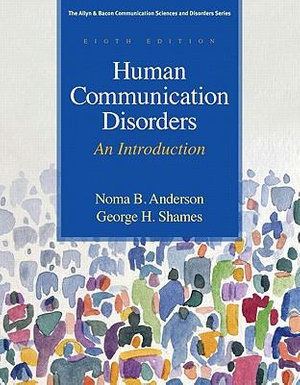 Cover of Human Communication Disorders