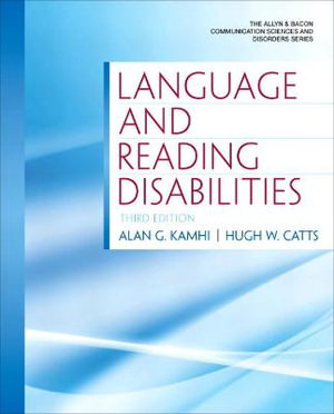 Cover of Language and Reading Disabilities