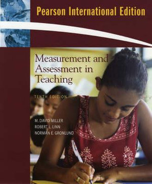Cover of Measurement and Assessment in Teaching