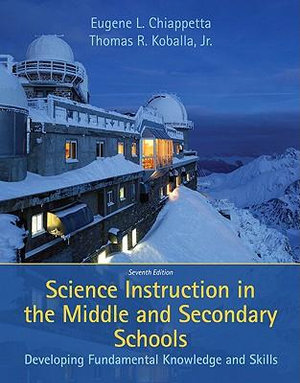 Cover of Science Instruction in the Middle and Secondary Schools