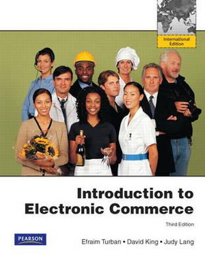 Cover of Introduction to Electronic Commerce Pearson International Edition       Mechanical Version
