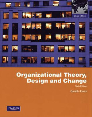 Cover of Organizational Theory, Design, and Change