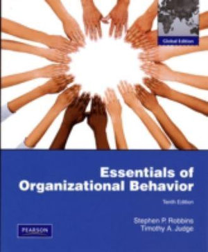 Cover of Essentials of Organizational Behavior