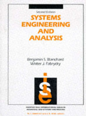 Cover of Systems Engineering and Analysis