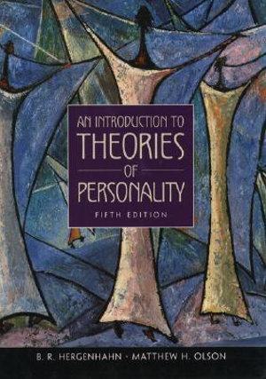 Cover of An Introduction to Theories of Personality