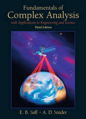 Cover of Fundamentals of Complex Analysis with Applications to Engineering and Science