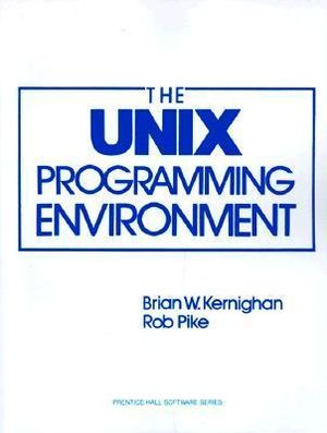 Cover of The UNIX programming environment