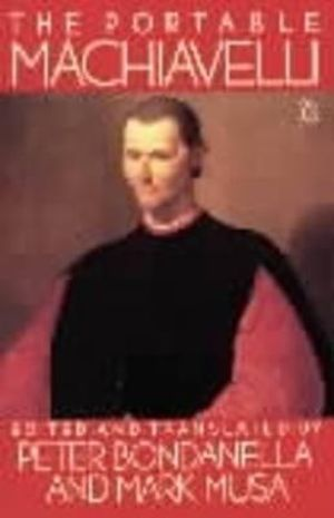 Cover of The Portable Machiavelli