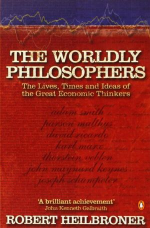 Cover of The Worldly Philosophers