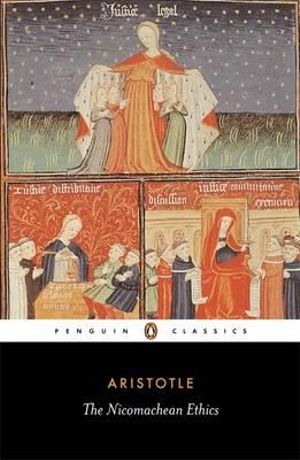 Cover of Nicomachean Ethics The