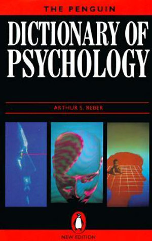 Cover of The Penguin dictionary of psychology