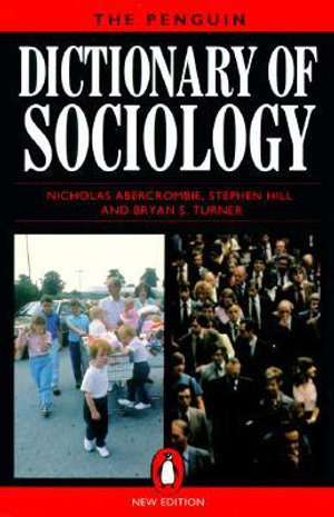 Cover of The Penguin Dictionary of Sociology