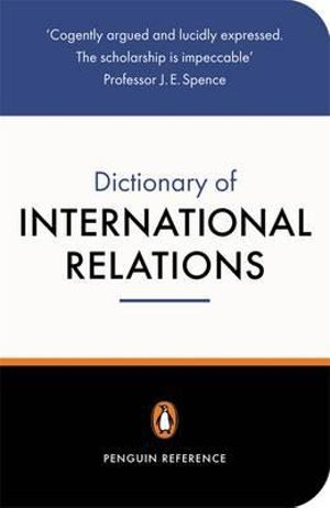 Cover of The Penguin Dictionary of International Relations