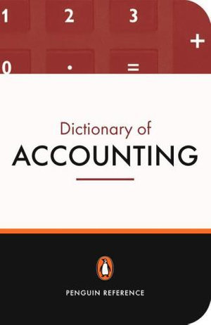 Cover of The Penguin Dictionary of Accounting