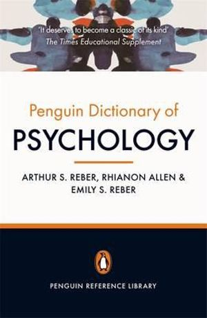 Cover of Penguin Dictionary of Psychology: Penguin Reference Library