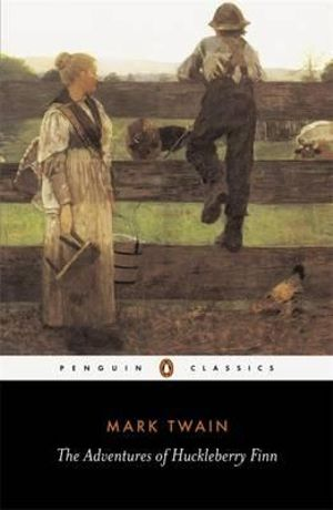 Cover of Adventures of Huckleberry Finn The