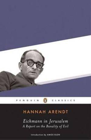 Cover of Eichmann in Jerusalem