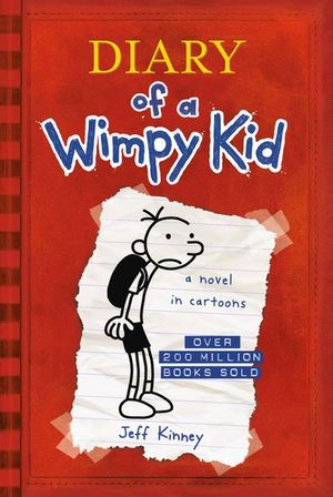 Cover of Diary of a Wimpy Kid