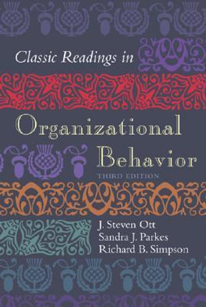 Cover of Classic Readings in Organizational Behavior