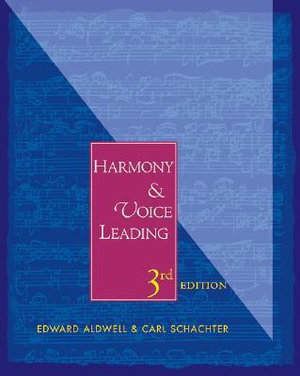 Cover of Harmony and Voice Leading