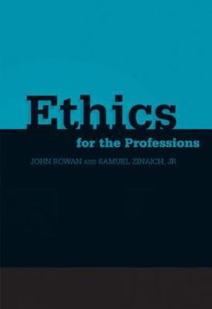 Cover of Ethics for the Professions