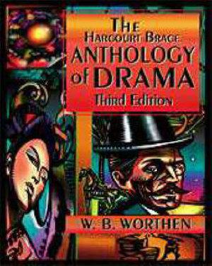 Cover of The Harcourt Brace Anthology of Drama