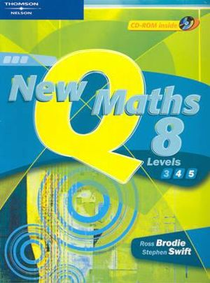 Cover of New Queensland Maths 8