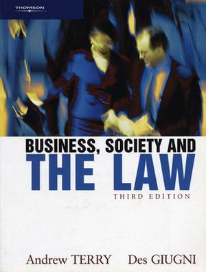 Cover of Business, Society and the Law