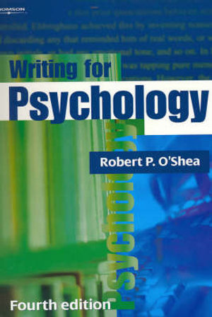 Cover of Writing for Psychology