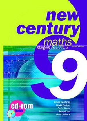 Cover of New Century Maths 9, Stages 5.1/5.2 Student's Text with CD