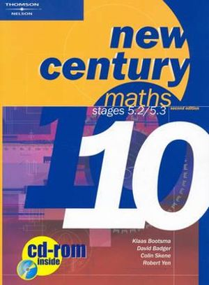 Cover of New Century Maths 10, 5.2/5.3: Student Book with CD : Student Text with  CD