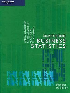 Cover of Australian Business Statistics