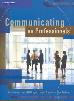 Cover of Communicating as Professionals