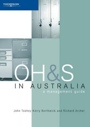 Cover of Occupational Health and Safety in Australia