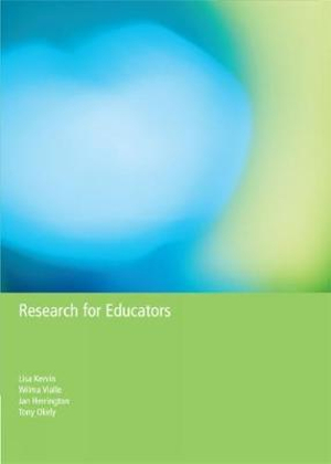Cover of Research for Educators