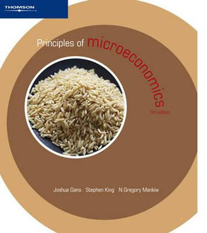 Cover of Principles Of Microeconomics 3/e