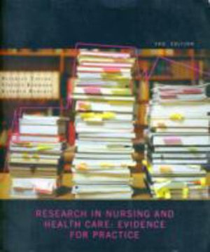 Cover of Research in Nursing and Health Care