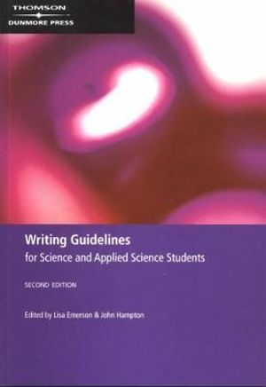 Cover of Writing Guidelines for Science and Applied Science Students