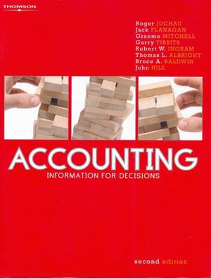 Cover of Accounting: Information for Decisions
