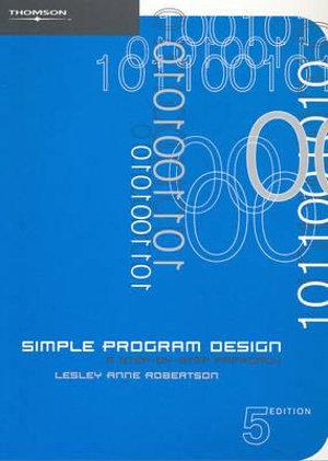 Cover of Simple Program Design