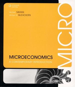 Cover of Microeconomics : A Contemporary Introduction
