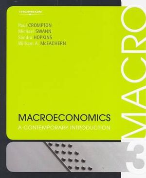 Cover of Macroeconomics : A Contemporary Introduction
