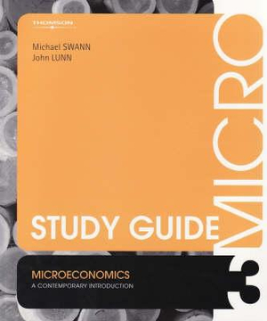 Cover of Study Guide [for] Microeconomics: a Contemporary Introduction