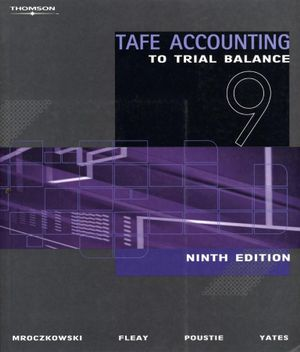 Cover of TAFE Accounting to Trial Balance
