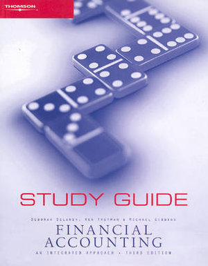 Cover of Study Guide [to] Financial Accounting