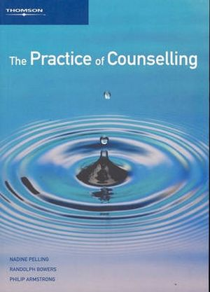 Cover of The Practice of Counselling