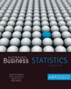 Cover of Australian Business Statistics Abridged