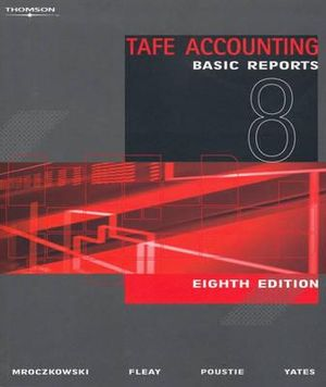 Cover of TAFE Accounting